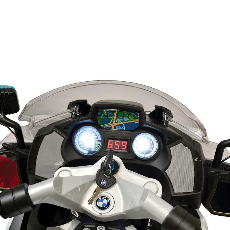 детский полицейский электромотоцикл Bmw R1200rt P White 12v 212