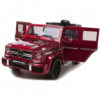 Детский электромобиль Mercedes Benz G63 LUXURY 2.4G - Black - HL168-LUX-RED