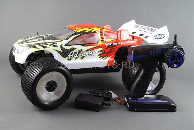 Радиоуправляемый джип HSP Electro Truggy Advance 4WD 1:8 Li-Po Battery - 94061 - 2.4G