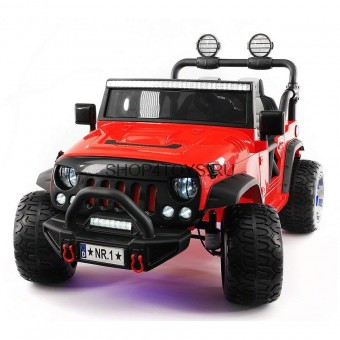 Электромобиль Jeep Wrangler Red 4WD - SX1718-A
