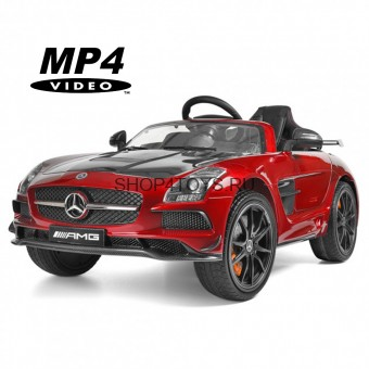 Электромобиль Mercedes-Benz SLS AMG Red Carbon Edition MP4 - SX128-S